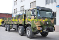 All Wheel Drive Heavy Cargo Truck 8x8 336 HP With 12.00R20 Tire ZZ2317N4677