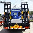FAW 8x4 Long Chassis Heavy Recovery Vehicle / Flatbed Truck With 4 Axles