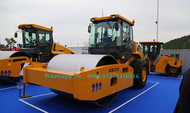 XCMG الطريق آلات البناء Big 33T Sheepsfoot Roller Compactor XS333